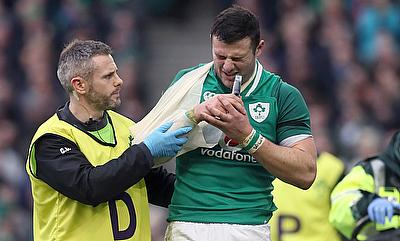 Robbie Henshaw's Six Nations tournament is over