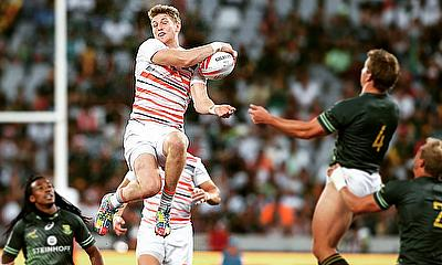 Ruaridh McConnochie flying high for England 7s