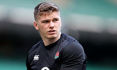 Owen Farrell was involved in a tunnel incident at Murrayfield