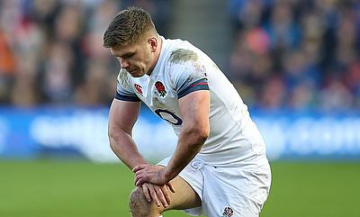 Owen Farrell was unable to prevent England from falling to defeat