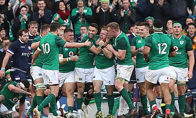 Ireland are currently on a 11-match winning streak