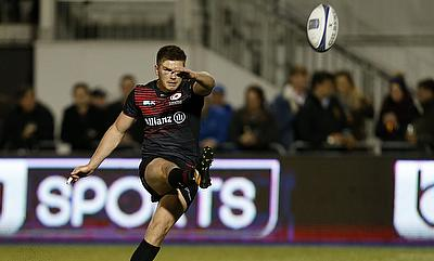 Owen Farrell contributed with 16 points for Saracens