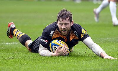 Elliot Daly scored a try for Wasps