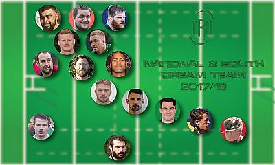 TRU's National 2 South Team of the Year 2017/18