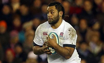 Billy Vunipola was replaced at the end of the first half