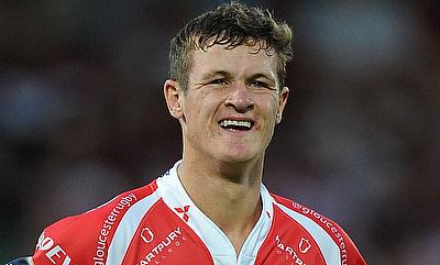 Billy Burns was with Gloucester Rugby since 2012