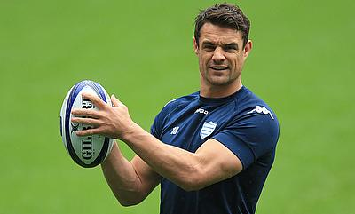 Dan Carter has landed in Japan