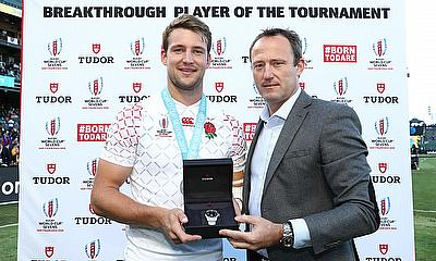 England's Harry Glover was named the Tudor Breakthrough Player of the Tournament