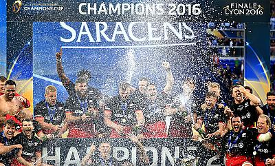 2016 European Champions Cup winning Saracens side