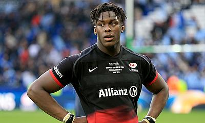 Maro Itoje scored a double for Saracens