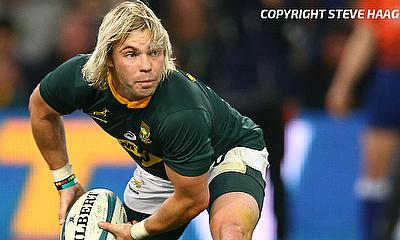 Faf de Klerk was one of the try scorer for South Africa