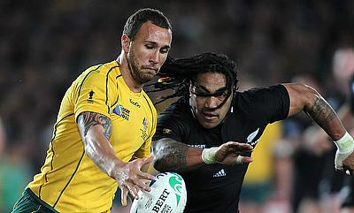 Quade Cooper (left) played for Reds since 2006