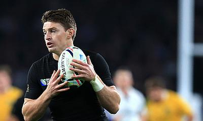 Beauden Barrett scored 17 points for New Zealand