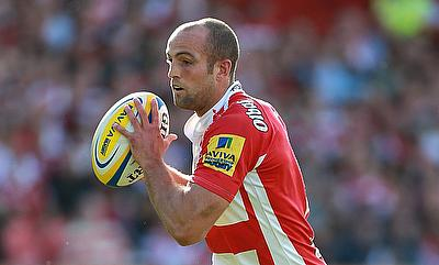 Charlie Sharples was one of the try-scorer for Gloucester