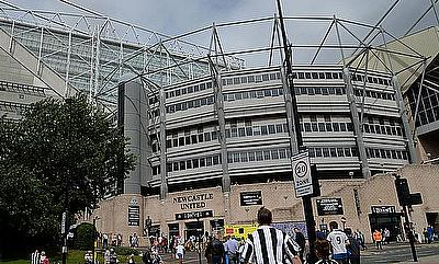 St James' Park is set to host Newcastle Falcons once again
