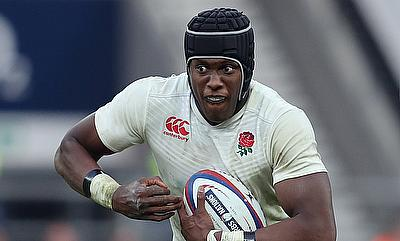 Maro Itoje suffered the injury during his England duty