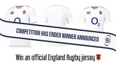 Win an England Rugby jersey courtesy of O2