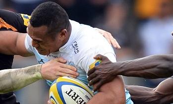 Sinoti Sinoti's try went in vain for Newcastle Falcons