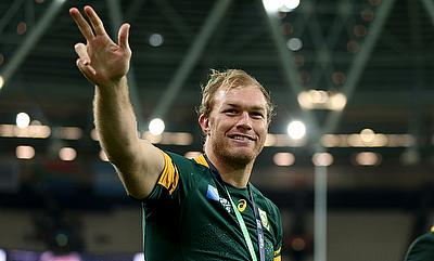 Schalk Burger joined Saracens in 2016