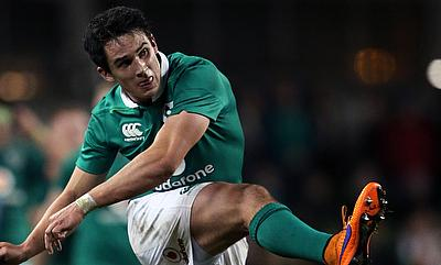 Joey Carbery kicked all the points for Munster