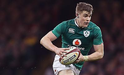 Garry Ringrose played 73 minutes during the game against England