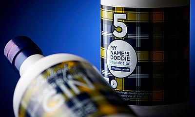 Burleighs Gin and the My Name'5 Doddie Foundation collaborate to create Doddie'5 Gin