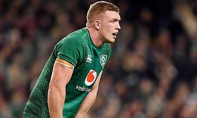 Dan Leavy played 11 minutes during the Champions Cup quarter-final against Ulster