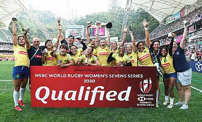 Brazil won promotion to the HSBC World Rugby Women's Sevens Series 2020