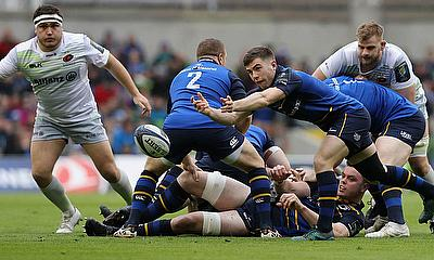 Leinster knocked out Saracens in the quarter-finals of last years Champions Cup