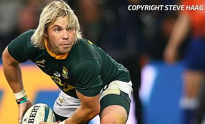 Faf de Klerk's last-minute penalty came off the posts