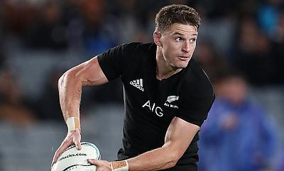 Beauden Barrett was one of the try-scorer for Hurricanes