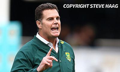 South Arica head coach Rassie Erasmus