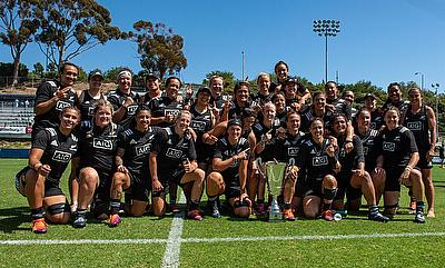 New Zealand Women celebrating their Super Series triumph