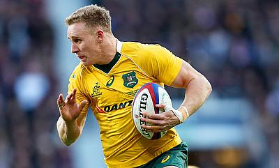 Reece Hodge scored the only try for Australia