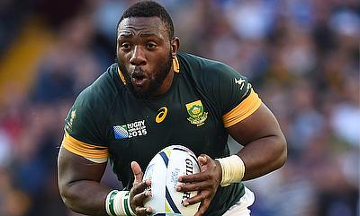 Tendai Mtawarira has played 109 times for South Africa