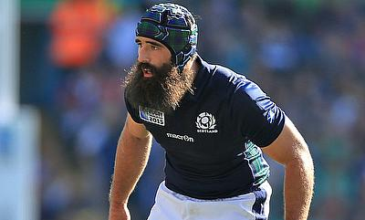 Josh Strauss has played 24 Tests for Scotland