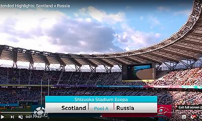 Highlights: Scotland v Russia Rugby World Cup 2019