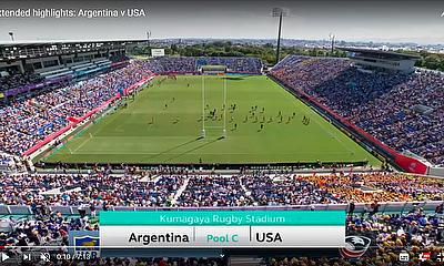 Highlights: Argentina v USA Rugby World Cup 2019