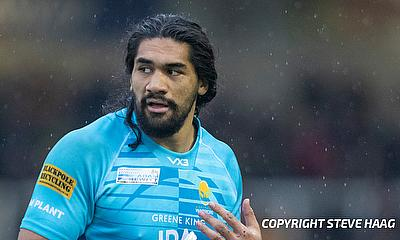 Michael Fatialofa suffered a neck injury during the game against Saracens