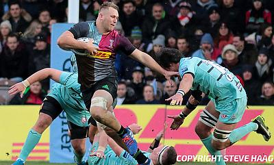 Alex Dombrandt joined Harlequins in 2018