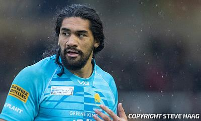 Michael Fatialofa has been on the sidelines since sustaining a neck injury earlier this month