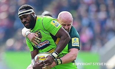 Api Ratuniyarawa was red-carded in the 50th minute during the game against London Irish