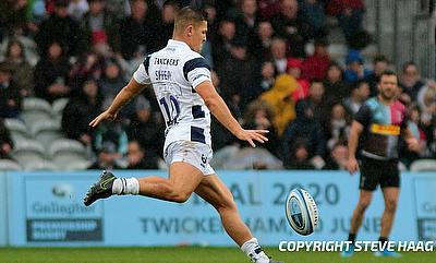 Callum Sheedy kicked seven points for Bristol Bears