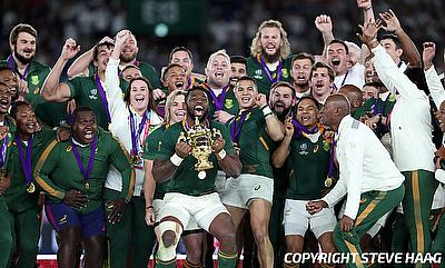 South Africa were the winners of the 2019 World Cup