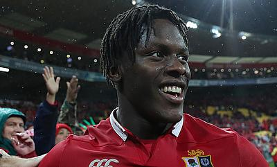 Maro Itoje played three Tests in British and Irish Lions tour of New Zealand