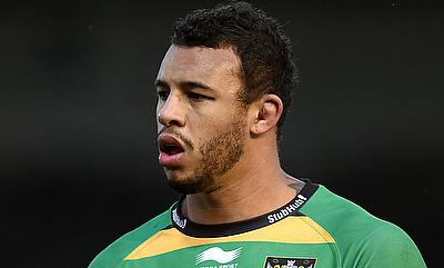 Courtney Lawes has been with Northampton Saints since 2007