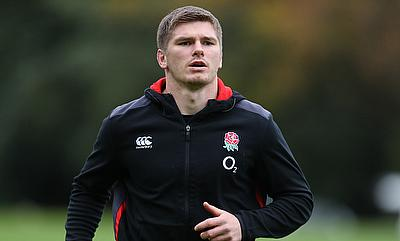 England and Saracens' Owen Farrell