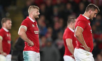 Sam Warburton (right) captained the Lions in the last two tours of Australia and New Zealand