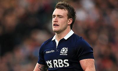 Stuart Hogg was one of the try-scorer for Exeter Chiefs