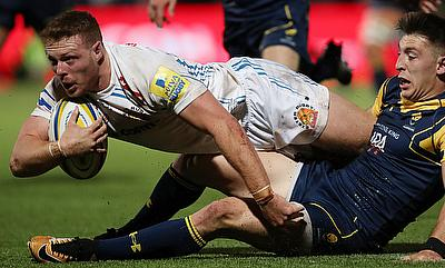 Sam Simmonds starred in Exeter's win